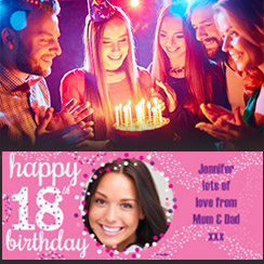 18th Birthday Banners