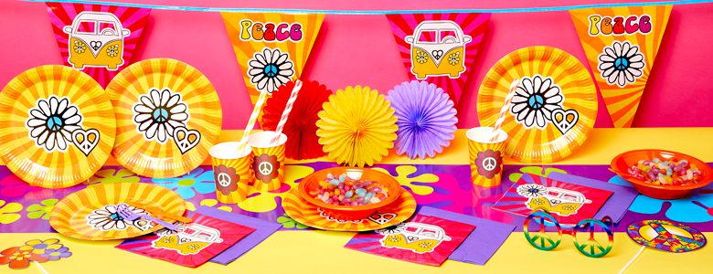60's Party –1960's Party Supplies & Decorations | Party Delights
