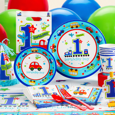 1st birthday party supplies party delights for 1st birthday decoration ideas for boys