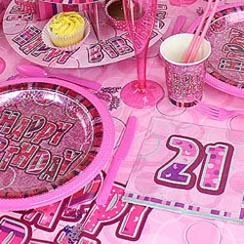 21st Dazzling Effects Pink