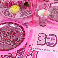 30th Dazzling Effects Pink