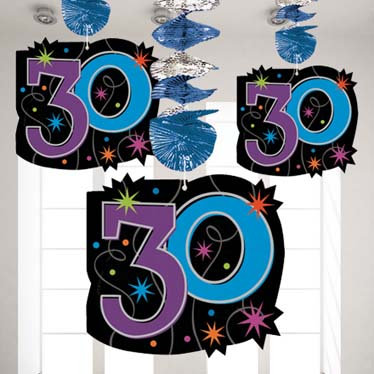 30th birthday party themes ideas party supplies for 30th birthday decoration