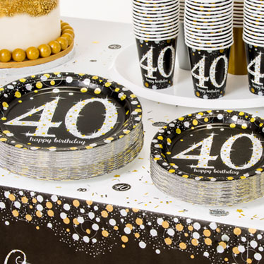 40th Birthday Party Themes Ideas Party Supplies Party Delights