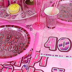 40th Dazzling Effects Pink