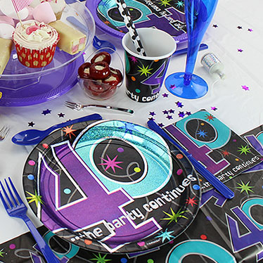 40th Party Themes