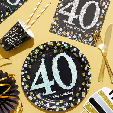 40th Birthday Party Themes Ideas
