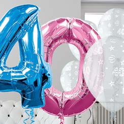 40th Birthday Balloons