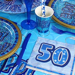 50th Dazzling Effects Blue