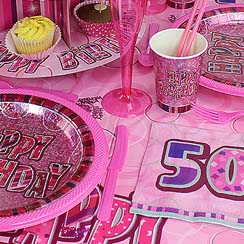 50th Dazzling Effects Pink
