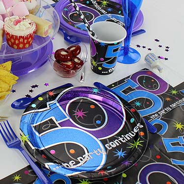 50th Party Themes
