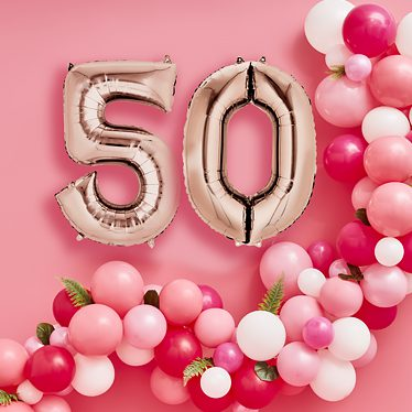 50th Birthday Party Themes Ideas
