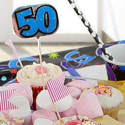 50th Birthday Accessories