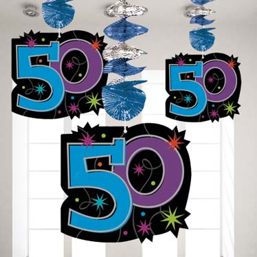50th Birthday Party Themes Ideas Party Supplies Party Delights
