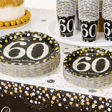 60th birthday party themes ideas party supplies for Decoration 60th birthday party
