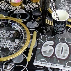 60th Dazzling Effects Black