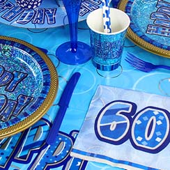 60th Dazzling Effects Blue