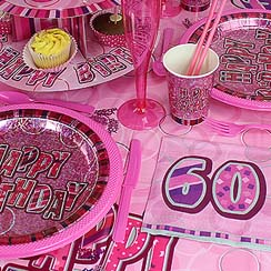 60th Dazzling Effects Pink