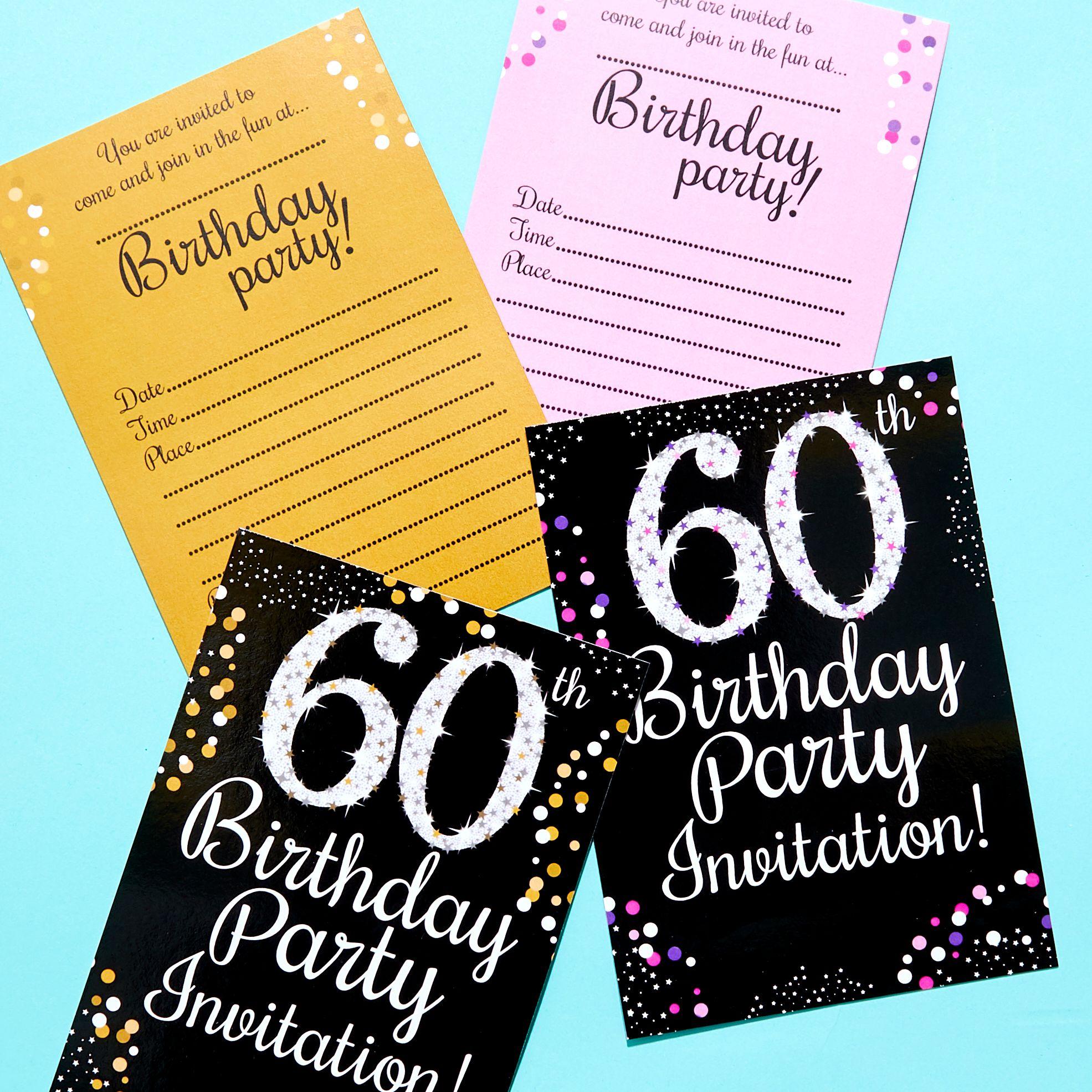 60th Birthday Party Themes Ideas