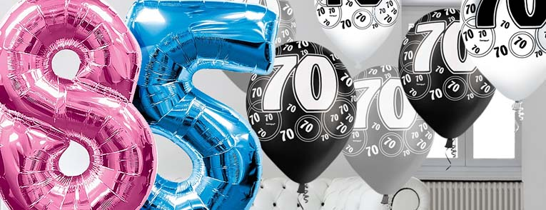 65 - 100th Birthday Party Balloons
