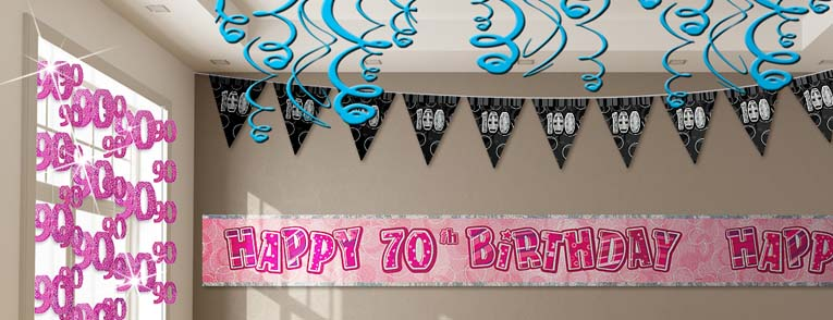 65 - 100th Birthday Party Decorations