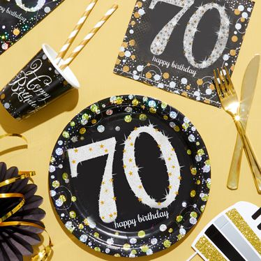 70th Birthday Party Themes Amp Ideas Party Supplies