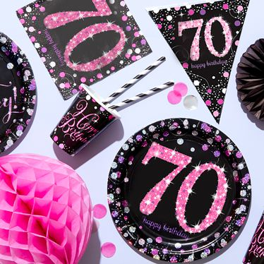 70th birthday party themes ideas party supplies party delights
