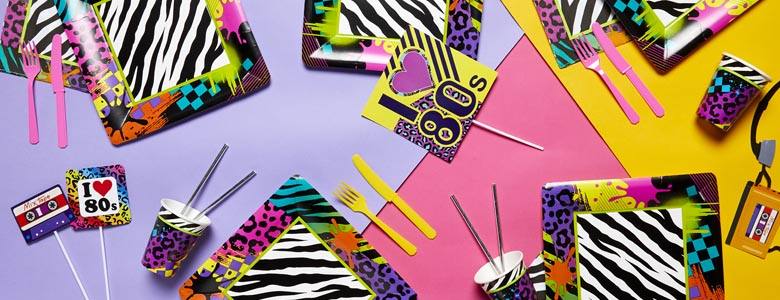 Totally 80's - 80's Party Supplies