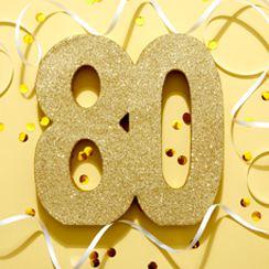 80th Birthday Party Themes Ideas