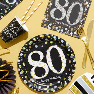 80th Birthday Party Themes Amp Ideas Party Supplies