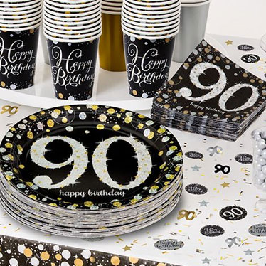 90th Birthday Party Themes Ideas Party Supplies Party Delights