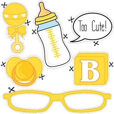 Baby Shower Printables Baby Yellow 1