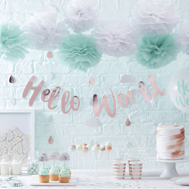 Baby Arrival Party Themes