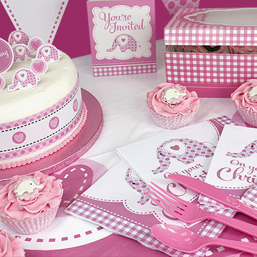 Baby Christening Party Supplies