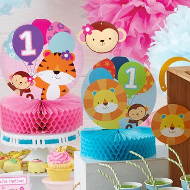 First Birthday Party Supplies Party Delights