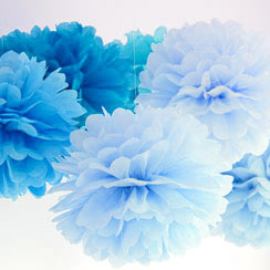 Blue Decorations