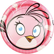 Pink Angry Birds
