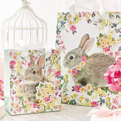 Easter party supplies party delights easter gift bags negle Images