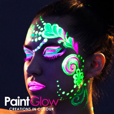 UV Neon Face Paints