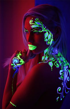 UV Glow & Face Paints