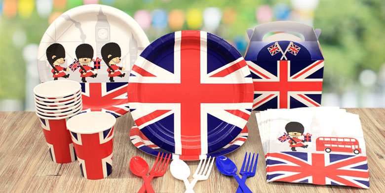 Union Jack Cake Decorations