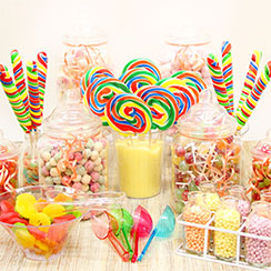 Rainbow Candy Buffet