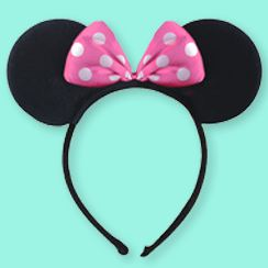 Minnie & Mickey Mouse Ears