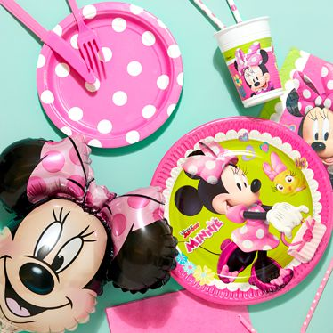 Minnie Mouse Party Supplies Decorations