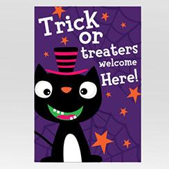 printable halloween door signs party delights