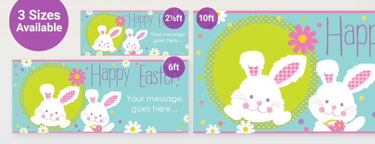 Easter Personalised Banners