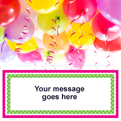 personalised banners party delights