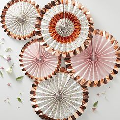 Rose Gold Decorations