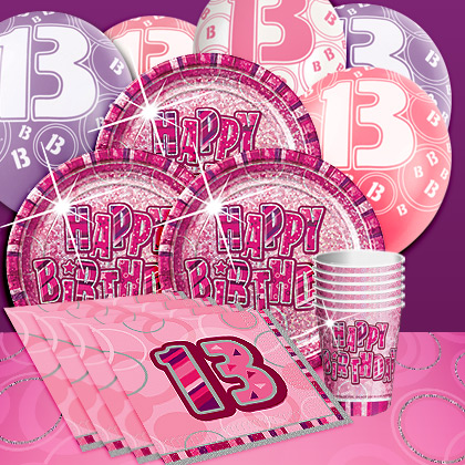 13th birthday party supplies party delights for 13th birthday party decoration ideas