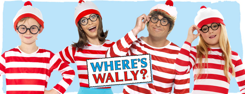 c99a8a717b Whereu0027s Wally Fancy Dress Costumes Sc 1 St Party Delights