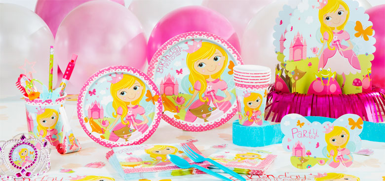 Woodland Princess Party Supplies